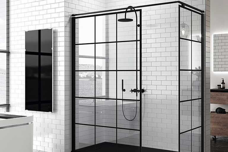 azulejos moncayo mampara ducha